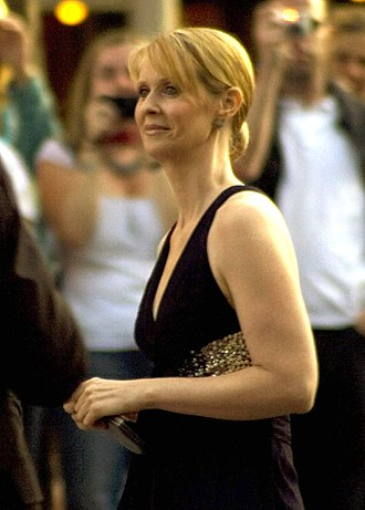 Cynthia Nixon - Nixon at the Berlin premiere of Sex and the City: The Movie, 2008