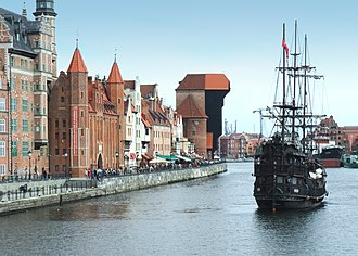 Pomeranian Voivodeship - Gdańsk, principal seaport of Poland since the Middle Ages and the capital of Pomeranian Voivodeship