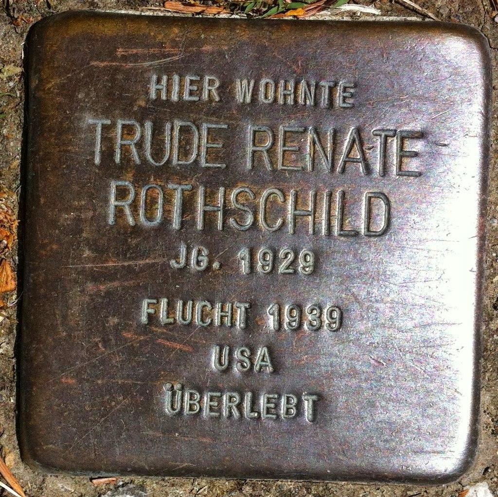 D-BW-KN-Stockach - Stolperstein 'ROTHSCHILD, Trude Renate'.jpg