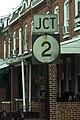 DE9 north - Jct DE2 Sign (44673972925).jpg