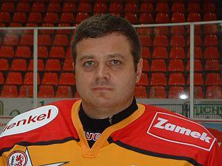 Andrei Trefilov Russian ice hockey player