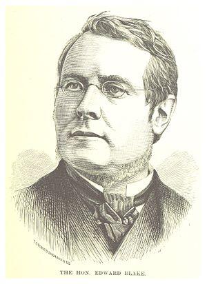 Edward Blake - Blake in 1881