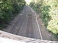 DKB Düren-Linnich - Ende der zweigleisigen Strecke bei Arnoldsweiler, 27.08.2011 - panoramio.jpg