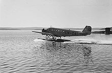 DNL Ju-52 at Fornebu on water.jpeg
