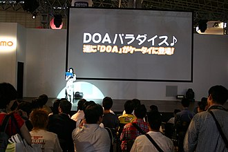 Dead or Alive Paradise - Dead or Alive Paradise promo at the Tecmo booth in Tokyo Game Show 2006.