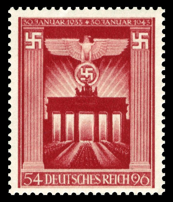 DR 1943 829 Brandenburger Tor