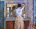 D Frederick Frieseke (1874-1939) The Dressing Room 1922.jpg