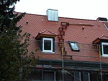 Fanggerüst dachfanggerüst
