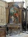Dammartin-en-Goële (77), collégiale Notre-Dame, nef nord, autel de saint Vincent.jpg