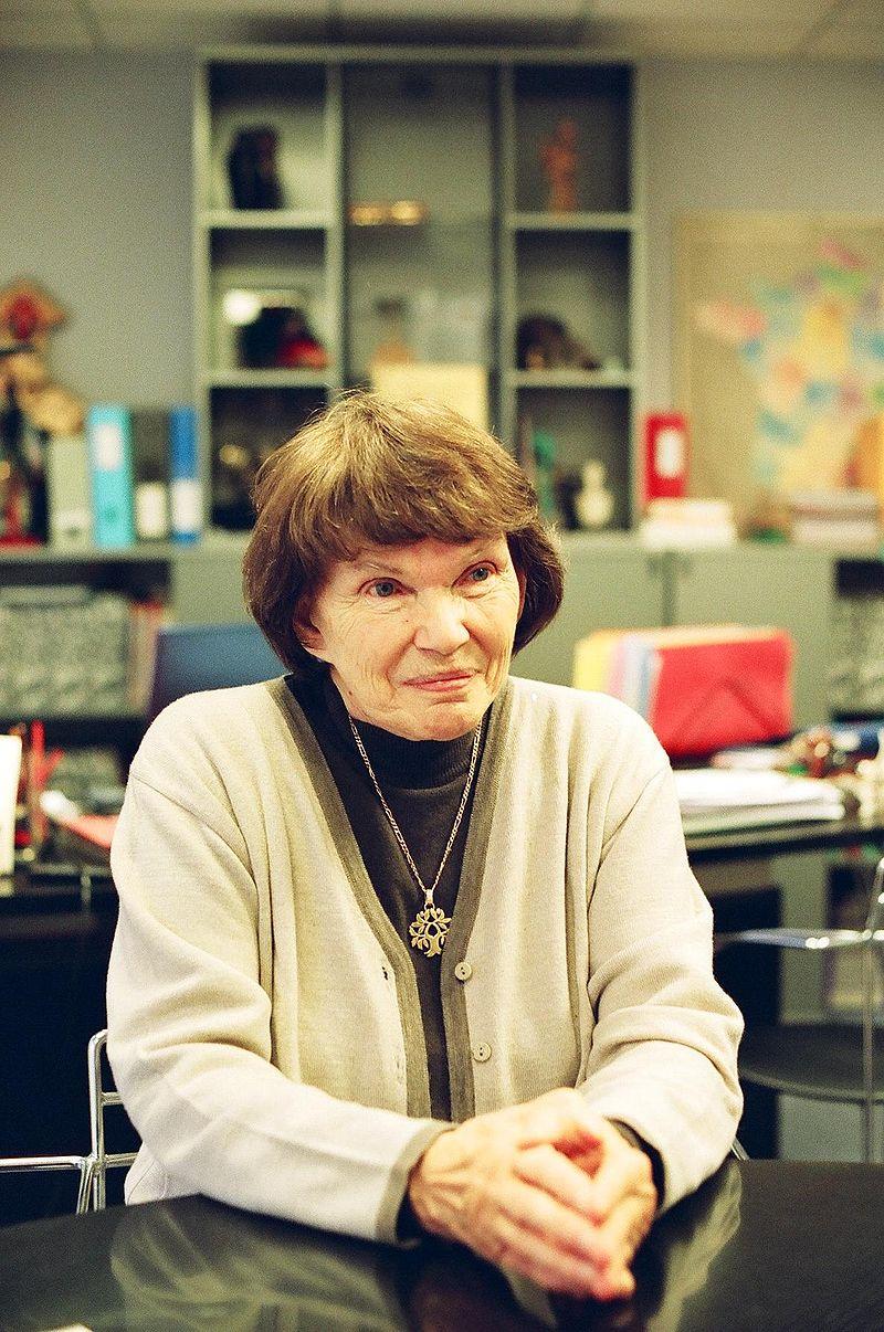 Danielle Mitterrand en 2005 | Source : Wikimedia commons.