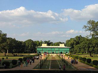 Tipu Sultan - Tipu Sultan's summer palace at Srirangapatna, Karnataka