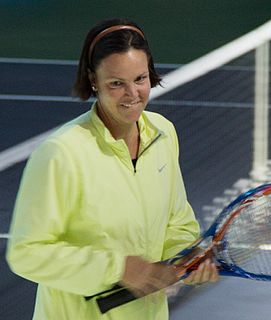 Lindsay Davenport US tennis player