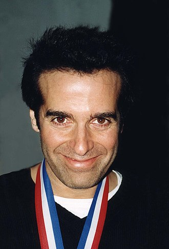 David Copperfield (illusionist) - Copperfield in 2000