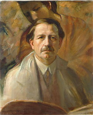 David Wallin - David Wallin (1876–1957) self-portrait, oil painting from 1938.