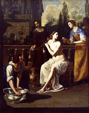 Columbus Museum of Art - Image: David and Bathsheba by Artemisia Gentileschi