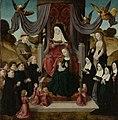 De heilige Anna te Drieën met stichters en de heiligen Franciscus en Lidwina Rijksmuseum SK-A-4125.jpeg