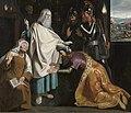 De heks van Endor roept Samuëls geest op voor Saul, circa 1619, Groeningemuseum, 0040712000.jpg