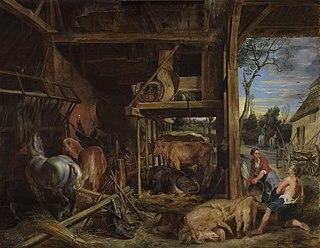 Painting by Peter Paul Rubens