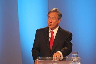Pensions in Chile - Sebastián Piñera in the presidential debate