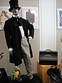 "Debbie Reynolds Auction - Rex Harrison ""Dr John Dolittle"" signature costume with top hat, shoes, prop parrot, and doctor bag from ""Dr Dolittle"".jpg"