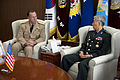 Defense.gov News Photo 100720-N-0696M-058 - Chairman of the Joint Chiefs of Staff Adm. Mike Mullen U.S. Navy meets with South Korean Chairman of the Joint Chiefs of Staff Army Gen. Han.jpg