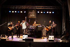 Del Castillo - Performing at the Montreux Jazz Festival