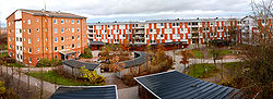 the delphi residential area located in the northern part of lund is