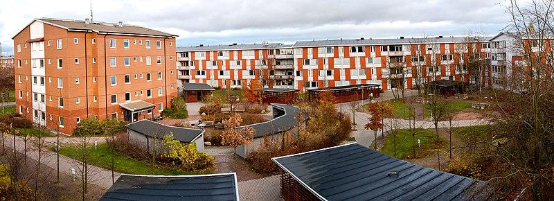 خوابگاه دانشجویی دانشگاه لوند سوئد