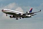 """Delta Air Lines McDonnell Douglas MD-11 N812DE """"The Centennial Spirit"""" (26855182320).jpg"""