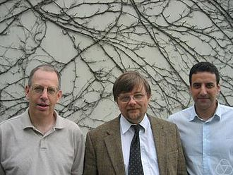 Terry Lyons (mathematician) - Terry Lyons (centre)