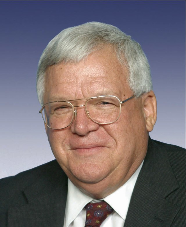 From commons.wikimedia.org: Dennis Hastert 109th pictorial photo {MID-210154}