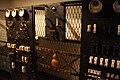 Dentro de la Batería B-8 del Monte San Pedro - Cuadro eléctrico en la sala de motores (43168540505).jpg