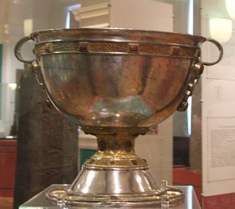 Chalice - Derrynaflan Chalice, an 8th- or 9th-century chalice, found in County Tipperary, Ireland