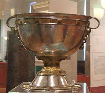 Derrynaflan Chalice, an 8th or 9th Century cha...