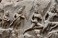 Descent of the Ganges, Pallava period, 7th century, Mahabalipuram (9) (37215588250).jpg