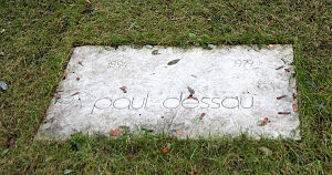 Paul Dessau - Dessau's grave in Berlin