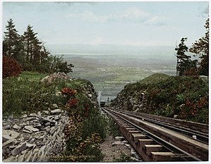 Palenville, New York - Otis Elevating Railway in Palenville, ca. 1900