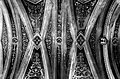 Dettaglio intrecciato in B&N della volta nella Chiesa di Santa Chiara - Ferrandina MT.jpg