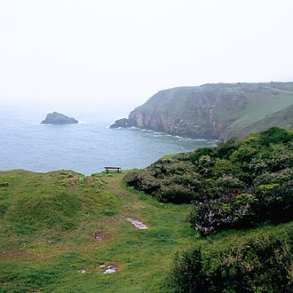 Devon - Cliffs in Devon.