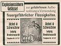 Die Kürschnerkunst, Hans Werner, 1914 (S. Anhang) Anzeige Jäckel und Schwuchow, Leipzig. Explosionssichere Gefässe.jpg