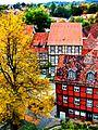 Die schöne Fachwerkstadt Quedlinburg.JPG