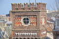 Dieppe (Normandy, France) brick tower.JPG