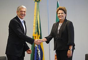 José Sócrates - José Sócrates and President Dilma Rousseff in 2011