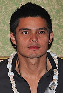 Dingdong Dantes at the Eat Bulaga! Press Conference, July 2008.JPG
