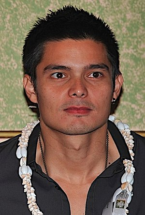 Dingdong Dantes -  Dantes at the Eat Bulaga! US press conference, July 2008