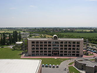 University of Parma - Mathematics and Computer Science Building at the University of Parma