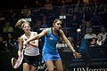 Dipika Pallikal (India) defeated Jaclyn Hawkes (New Zealand) in the women's semifinals.jpg