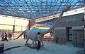 Diplodocus in Progress - Dinosaurs Alive Exhibition - Science City - Calcutta 1995-June 327.JPG