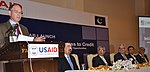 Director USAID Punjab Dr. Miles Toder delivering remarks at the launch (22475106782).jpg