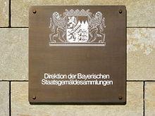 Bayerische Staatsgemäldesammlungen Wikipedia